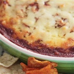 Sweet and Spicy BBQ Chicken Dip