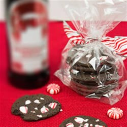 Double Chocolate Peppermint Cookies Recipe