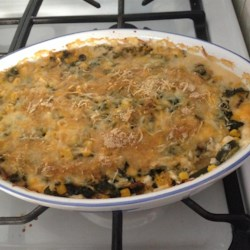 Zucchini and Corn Gratin