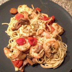 Garlic Shrimp Pasta Recipe