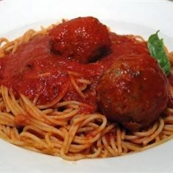 Richard and Suzanne's Famous Spaghetti Sauce Recipe
