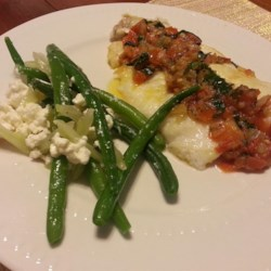 Fresh Green Beans, Fennel, and Feta Cheese Recipe