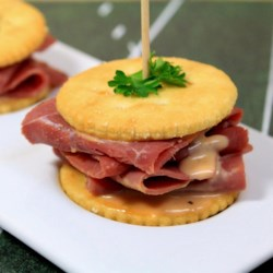 RITZ Pastrami and Corned Beef Mini Sandwich |The 7Up Experience