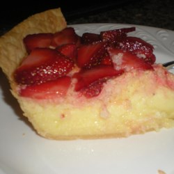Lemon Sponge Pie I