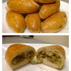 Traditional Russian Pirozhki