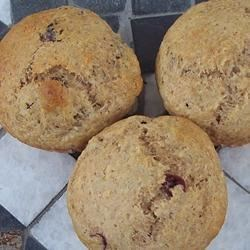 Applesauce Wheat Blueberry Muffins Recipe