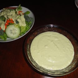 Avocado Dressing II Recipe