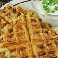 Hash Brown Waffles Recipe