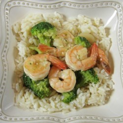 Shrimp with Broccoli in Garlic Sauce Recipe