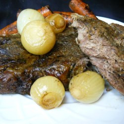 Pot Roast with Balsamic Onions