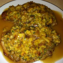 Crazy Good Stuffing and Baked Chops Recipe