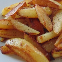 Salt and Pepper Skillet Fries Recipe