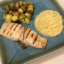 Garlic-Lemon Mahi Filets Recipe