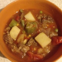 Awesome Beef Vegetable Soup Recipe