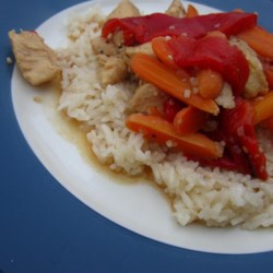 Chicken Delirious and Buttered Rice  (for Pressure Cooker) Recipe