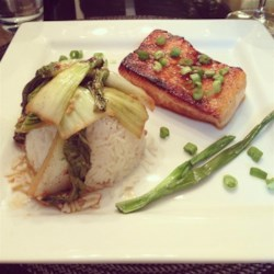 Miso and Soy Chilean Sea Bass Recipe