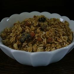 Easy Cranberry Granola Recipe