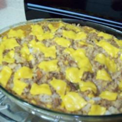 Quick Festive Ground Meat Skillet Recipe