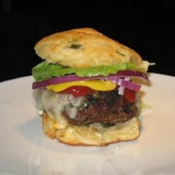 Spicy Serrano Burgers Recipe