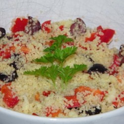 Simple Greek Couscous