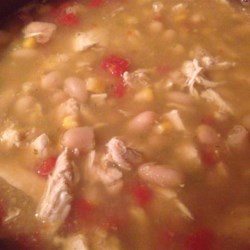 Crock-Pot(R) Chicken Chili Recipe