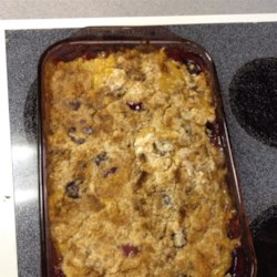 Easy Peach Crisp I Recipe
