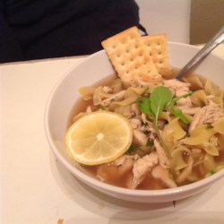 Portuguese Chicken Soup II Recipe