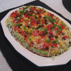 Skinny Seven Layer Dip Recipe