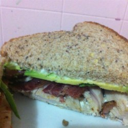 California Club Turkey Sandwich