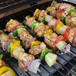 Chili-Lime Chicken Kabobs Recipe