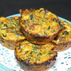 Spinach and Spaghetti Squash Quiche Recipe