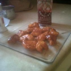Sriracha Lime Boneless Wings Recipe