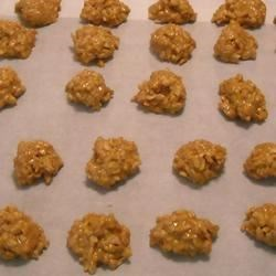 No Bake Peanut Butter Cookies II