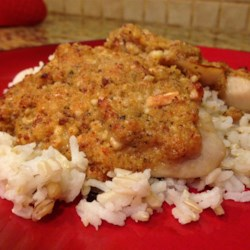 Almond and Parmesan Crusted Tilapia Recipe