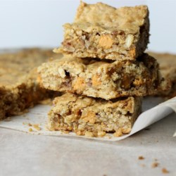 Butterscotch Oat Bars