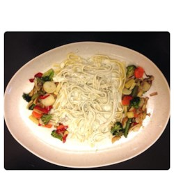 Aphrodisiac Tagliatelle with Blue Cheese Sauce