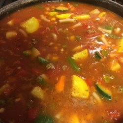 Mama's Hearty Minestrone Recipe
