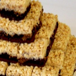 Peanut Butter Rice Krispies(R) Brownies Recipe