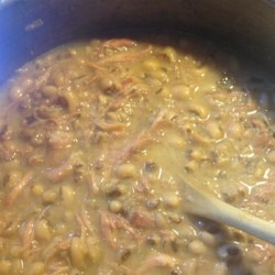 Tam's Black Eye Peas Recipe