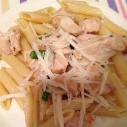 Asparagus, Chicken and Penne Pasta Recipe