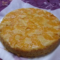 Orange Vegan Cake Recipe