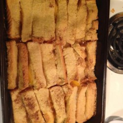 Too Easy Peach Cobbler