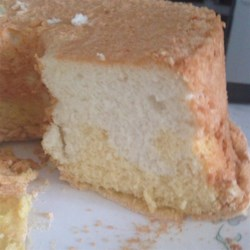 Two Part Angel Cake Recipe