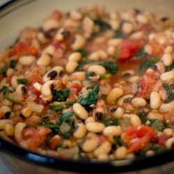 Spinach and Bean Casserole Recipe