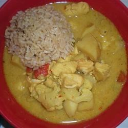 Michelle's Coconut Chicken Curry