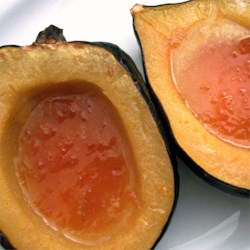 Baked Acorn Squash with Apricot Preserves Recipe