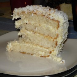 Brazilian-Style Moist Coconut Cake Recipe