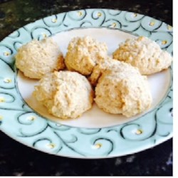 Whole Wheat Vegan Drop Biscuits