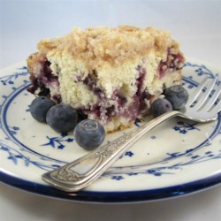 Grandma's Blueberry Buckle Recipe