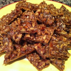 Mary's Salted Caramel-Pecan Bars Recipe